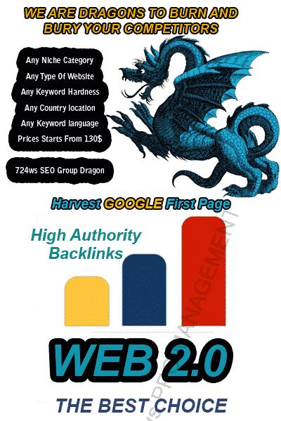 Buy WEB 2.0 Backlinks Blogs Dedicated Accounts links