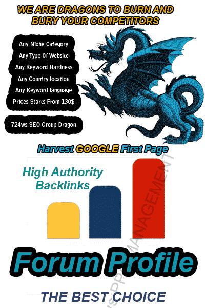 Forum Profiles Dofollow Backlinks